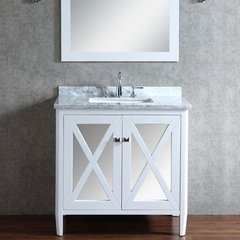 "36"" Seacliff Summit Single Sink Vanity - Alpine White"