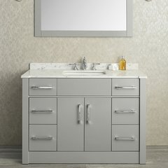 "48"" Seacliff Radcliff Single Sink Vanity - Taupe Gray"