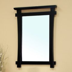 "37"" x 27"" Wall Mount Mirror - Black"