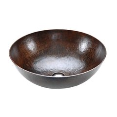 "17"" Diameter Vessel/Above Counter Sink - Oil Rubbed Bronze"