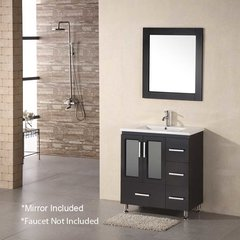 "32"" Stanton Single Sink Bathroom Vanity - Espresso"