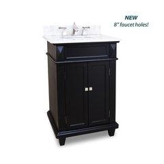 """24"""" Douglas Single Sink Vanity - Black"""