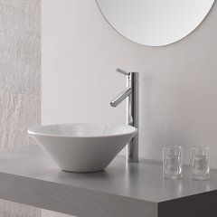 Sheven Vessel Bathroom Faucet - Chrome