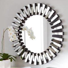 "36"" x 36"" Modern Luxe Wall Mount Mirror"