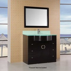 "40"" Aria Single Sink Bathroom Vanity - Espresso"