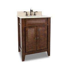 """26"""" Lindley Single Sink Bathroom Vanity - Nutmeg"""