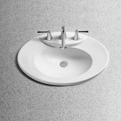"25-5/8"" x 17-3/4"" Drop In/Self Rimming Bathroom Sink - Ebo"