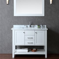 "42"" Seacliff Bayhill Single Sink Bathroom Vanity -Cloud Gray"