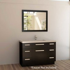 "48"" Moscony Single Sink Bathroom Vanity - Espresso"