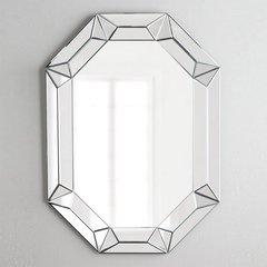 "42"" x 28"" Modern Luxe Wall Mount Mirror"
