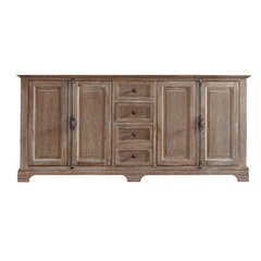"71"" Providence Double Cabinet Only w/o Top - Driftwood"