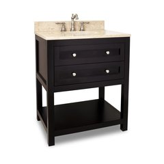 "30"" Astoria Modern Single Sink Vanity - Espresso"