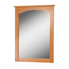 "21"" x 28"" Worthington Wall Mount Mirror - Oak"