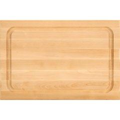 18 Inch X 12 Inch X 1-1/2 Inch Reversible Cutting Board - Northern Hard Rock Maple