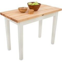48 Inch X 24 Inch x 35 Inch Kitchen Work Table - Alabaster