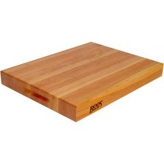 RA-Board 20 Inch x 15 Inch x 2-1/4 Inch Reversible Cutting Board - American Cherry