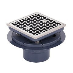 Square Tile-In Shower Drain - Nickel