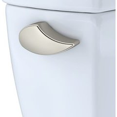 TRIP LEVER - BRUSHED NICKEL For DRAKE (EXCEPT R SUFFIX) TOILET