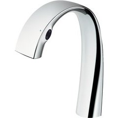 ZN 1.1 GPM Electronic Touchless Bathroom Faucet with SOFT FLOW and SAFETY THERMO Technology, Polished Chrome