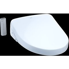 WASHLET S500e Electronic Bidet Toilet Seat with EWATER+ and Contemporary Lid, Elongated, Cotton White
