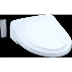 WASHLET S550e Electronic Bidet Toilet Seat with EWATER+ and Auto Open and Close Classic Lid, Elongated, Cotton White
