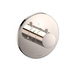 Round Volume Control Valve Shower Trim - Polished Nickel