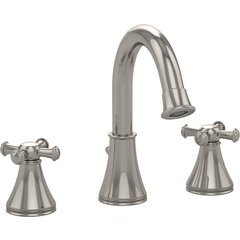Vivian Alta Two Cross Handle Widespread 1.5 GPM Bathroom Sink Faucet, Polished Nickel - TL220DD1H#PN
