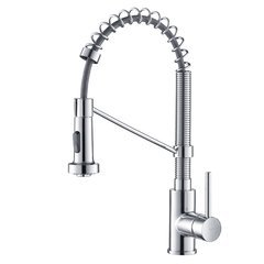 Bolden One Handle Pull-Out Kitchen Faucet-Chrome