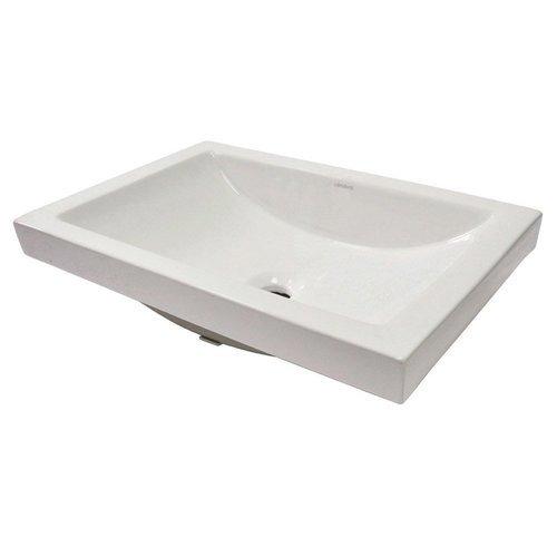 "Breanna 19.29"" x 35.43"" Semi Recessed Sink <small>(#14107-CWH)</small>"