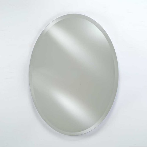 Afina Radiance 26 Quot Wall Mount Oval Mirror Beveled Rm 326