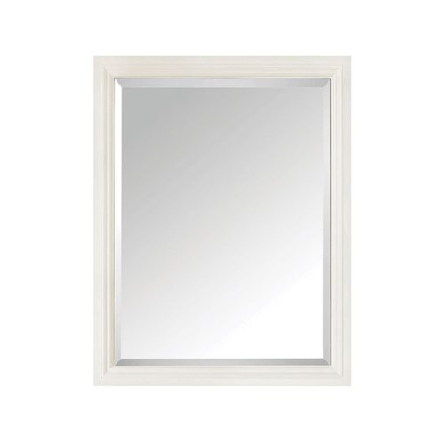 "30"" x 24"" Thompson Wall Mount Mirror - French White <small>(#THOMPSON-M24-FW)</small>"