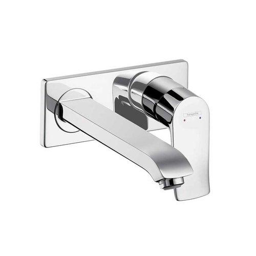 Hansgrohe Metris E One-Handle Wall Mount Bathroom Faucet - Chrome 31086001