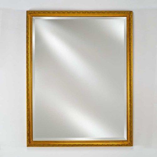 """Estate 24"""" Mirror - Antique Gold <small>(#EC10-2430-GD)</small>"""