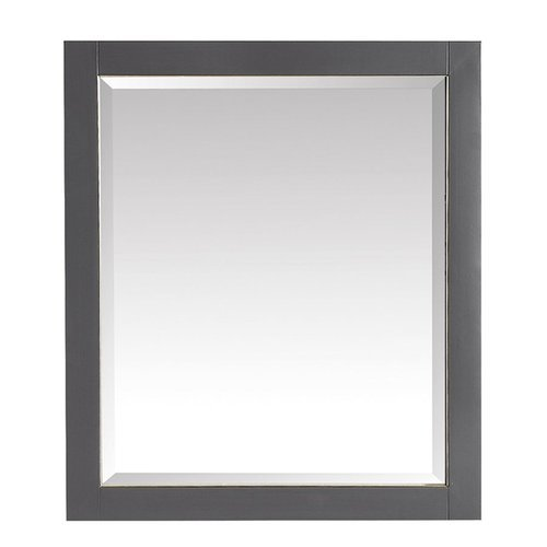 Avanity 28 in. Mirror for Allie / Austen in Twilight Gray w/ Gold Trim <small>(#170512-M28-TGG)</small>
