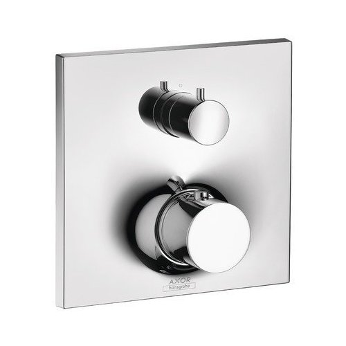 AXOR Massaud Thermostatic Trim with Volume Control and Diverter - Chrome 18750001