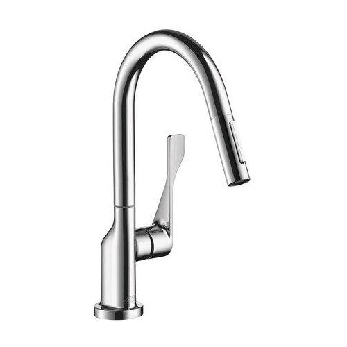 AXOR Citterio 2-Spray Prep Kitchen Faucet, Pull-Down, 1.75 GPM - Chrome 39836001