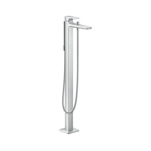 Hansgrohe Metropol Freestanding Tub Filler Trim with Lever Handle with 1.8 GPM Handshower 32532001
