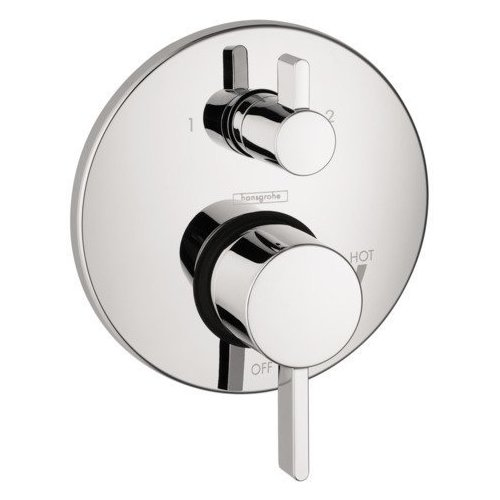 Hansgrohe S Pressure Balance Trim with Diverter - Chrome 04447000