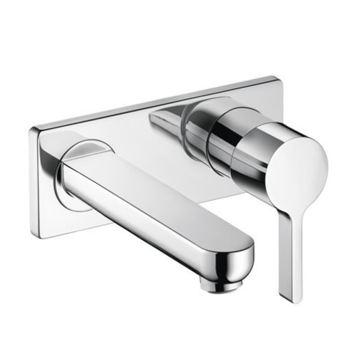 Hansgrohe Metris S One-Handle Wall Mount Bathroom Faucet - Chrome 31163001