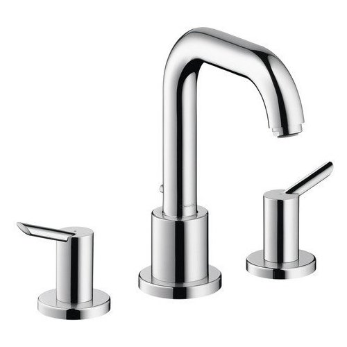 Hansgrohe Focus S 3-Hole Roman Tub Set Trim - Chrome