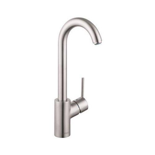 Hansgrohe Talis S Bar Faucet, 1.5 GPM - Steel Optik 04287800