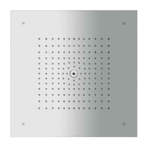 Hansgrohe Raindance E 400 Square 1-Jet Showerhead Trim, 2.0 GPM 26253001