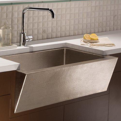 "33"" x 22"" Zuma Farm House Kitchen Sink - Brushed Nickel <small>(#CPK590)</small>"
