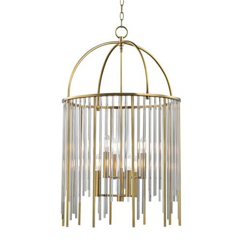 Lewis 6 Light Pendant - Aged Brass <small>(#2520-AGB)</small>