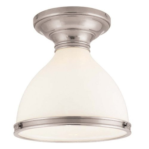 Randolph 1 Light Semi Flush - Satin Nickel <small>(#2612-SN)</small>