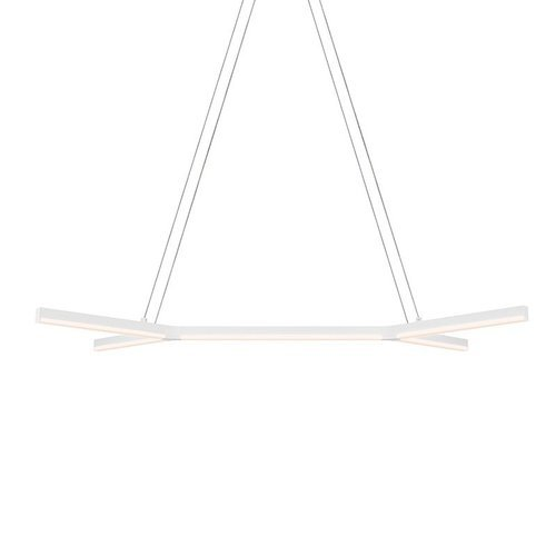 bi-Y LED Pendant - Satin White <small>(#2774.03)</small>