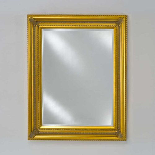"Estate 28"" Wall Mount Mirror - Antique Gold <small>(#EC15-2834-GD)</small>"
