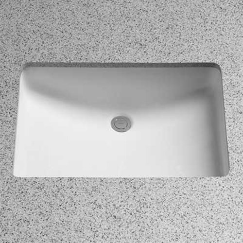 "23"" x 16"" Undermount Bathroom Sink - Cotton White <small>(#LT540G#01)</small>"