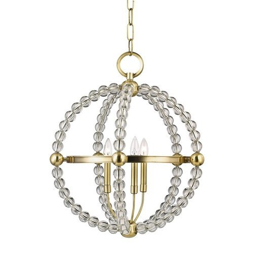 Danville 3 Light Pendant - Aged Brass <small>(#3120-AGB)</small>