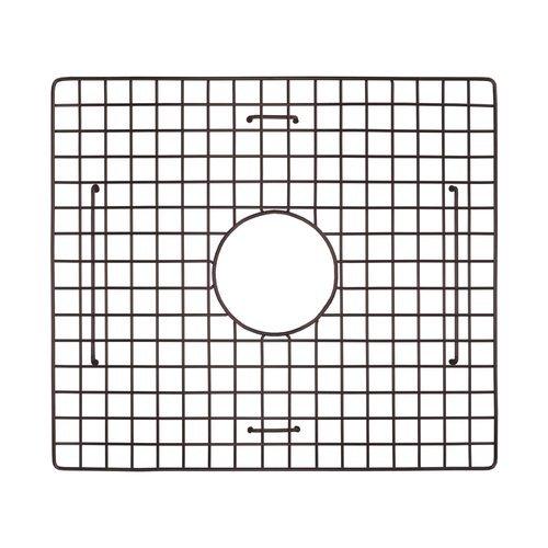 """15"""" x 17"""" Kitchen Sink Grid - Mocha <small>(#GR1715-M)</small>"""